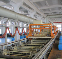 Fully automatic gantry barrel plating production line